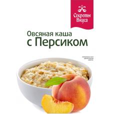 Каша овсяная с персиком